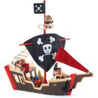 Djeco Pirátská loď - Poškozený obal
