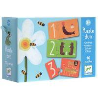 Djeco Puzzle duo Čísla