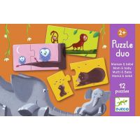 Djeco Puzzle duo Najdi mládě