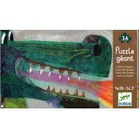 Djeco Puzzle gigant Drak