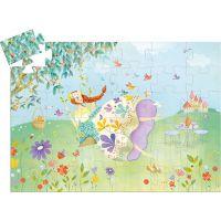 Djeco Puzzle Jarní princezna
