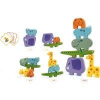 Djeco Puzzlové kostky zvířátka ze Zoo