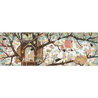 Djeco Puzzlový obraz Domeček na stromě 200 dílků