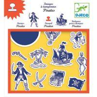 Djeco Razítka Bitva pirátů