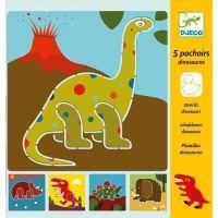 Djeco Šablony dinosauři