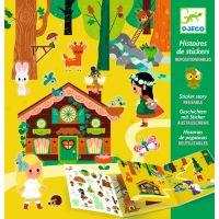 Djeco Samolepkové příběhy Magický les
