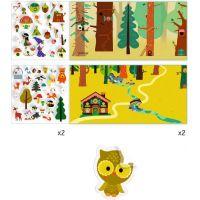 Djeco Samolepkové příběhy Magický les 2