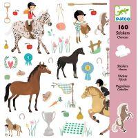 Djeco Samolepky Koně