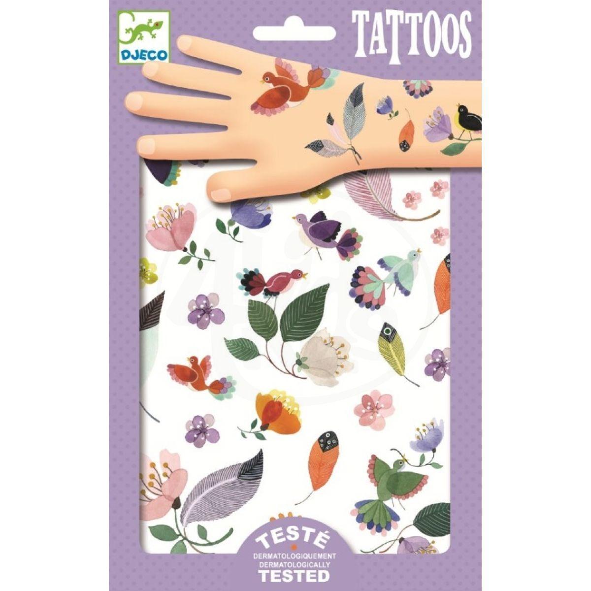 Djeco Tetování Něžné motivy