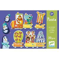Djeco Trio Puzzle Kolik nás je?