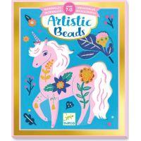 Djeco Umělecké koláže s perličkami Zvířata