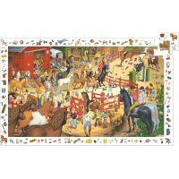 Djeco Vyhledávací puzzle Koně 200 dílků