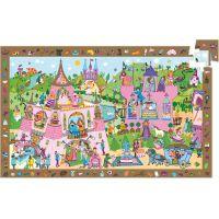 Djeco Vyhledávací puzzle Princezna 54 dílků