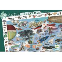 Djeco Vyhledávací puzzle vzdušná doprava