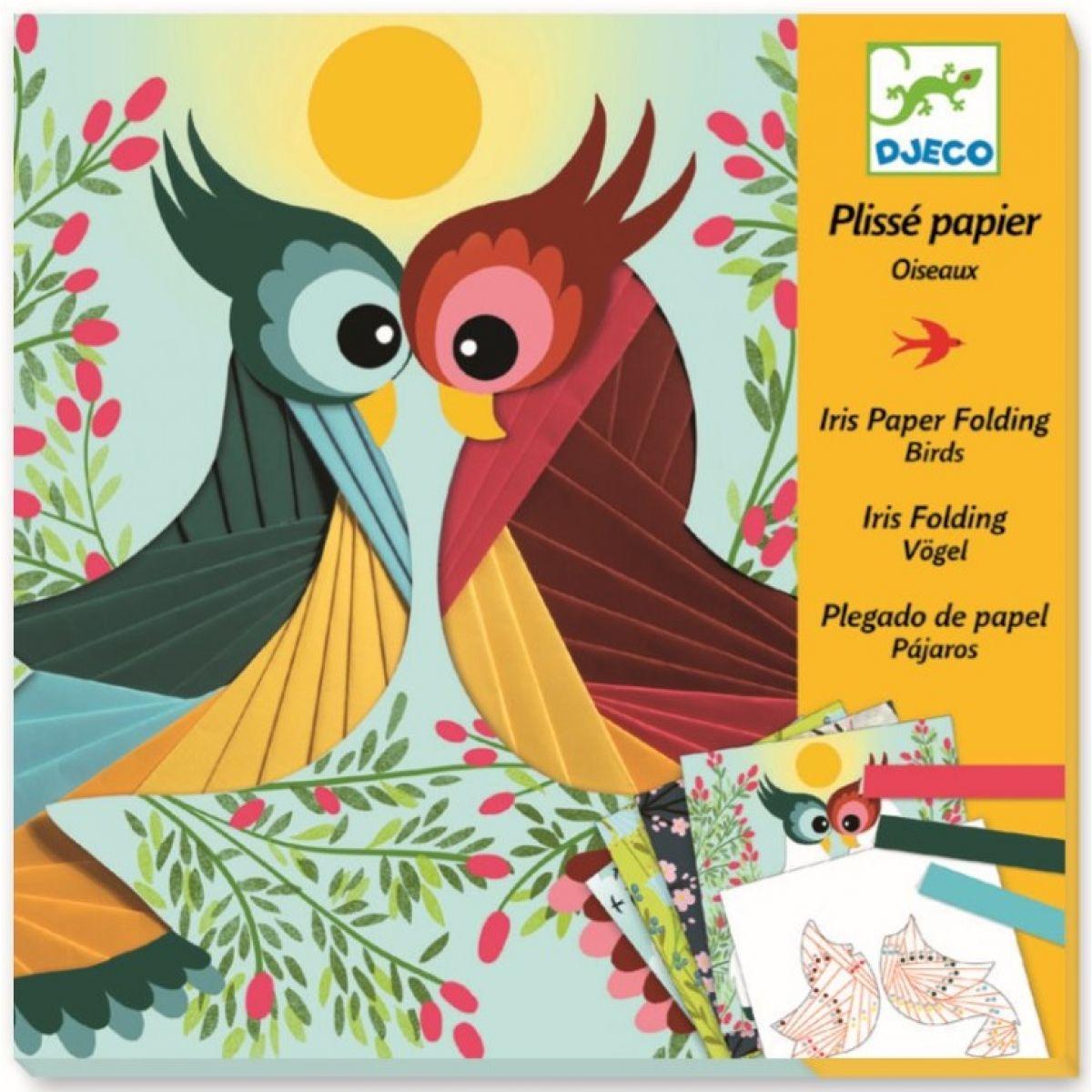 Djeco Výtvarná sada Ptáčci