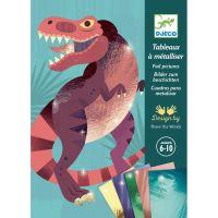 Djeco Výtvarný set Folie Dinosauři