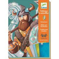 Djeco Výtvarný set folie Vikingové