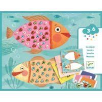Djeco Výtvarný set Perlové rybky