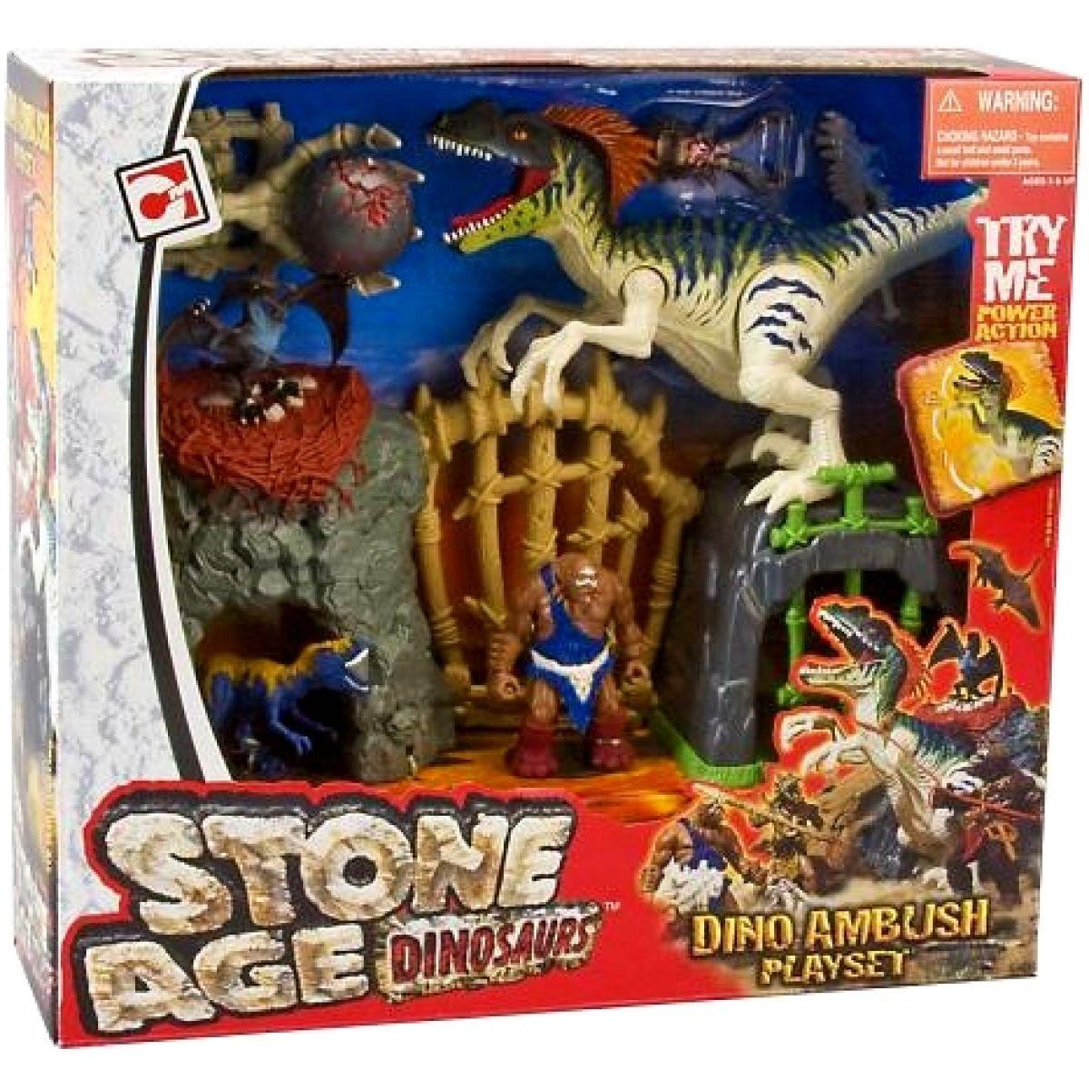 Doba kamenná Dinosaurus velký hrací set