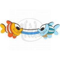 DoDo Nábytkové madlo rybky