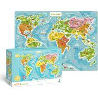 DoDo Puzzle Mapa Sveta 100 dielikov