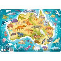 DoDo Puzzle Zvieratá Austrálie 53 dielikov