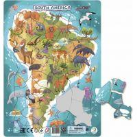 DoDo Puzzle Zvieratá Južná Amerika 53 dielikov 2