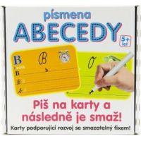 Dohány Písmena abecedy Piš na smazatelné karty