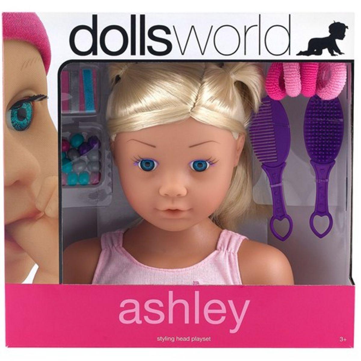 Ashley - česací hlava - Blondýnka