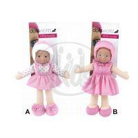 HM Studio 378562 - Moje první panenka na kartě  Dolly 30 cm - růžová