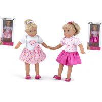 Dolls World Panenka Amy 36 cm Tmavě růžová sukně