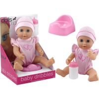 Dolls World Panenka Baby Dribbles 25 cm