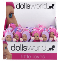 Dolls World Panenka brouček 18 cm