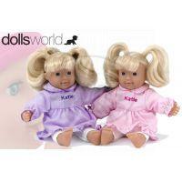 HM Studio 378537 - Panenka Katie 20 cm, fialové šaty
