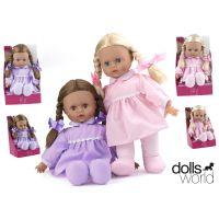 HM Studio 378547 - Panenka Lily 41 cm, fialové šaty