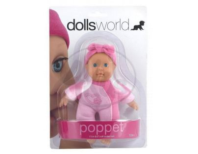 Dolls World Panenka Poppet 17cm - Čelenka