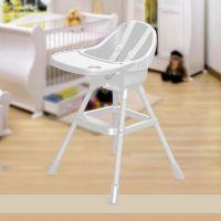 Dolu Dětská jídelní židlička bílá 2