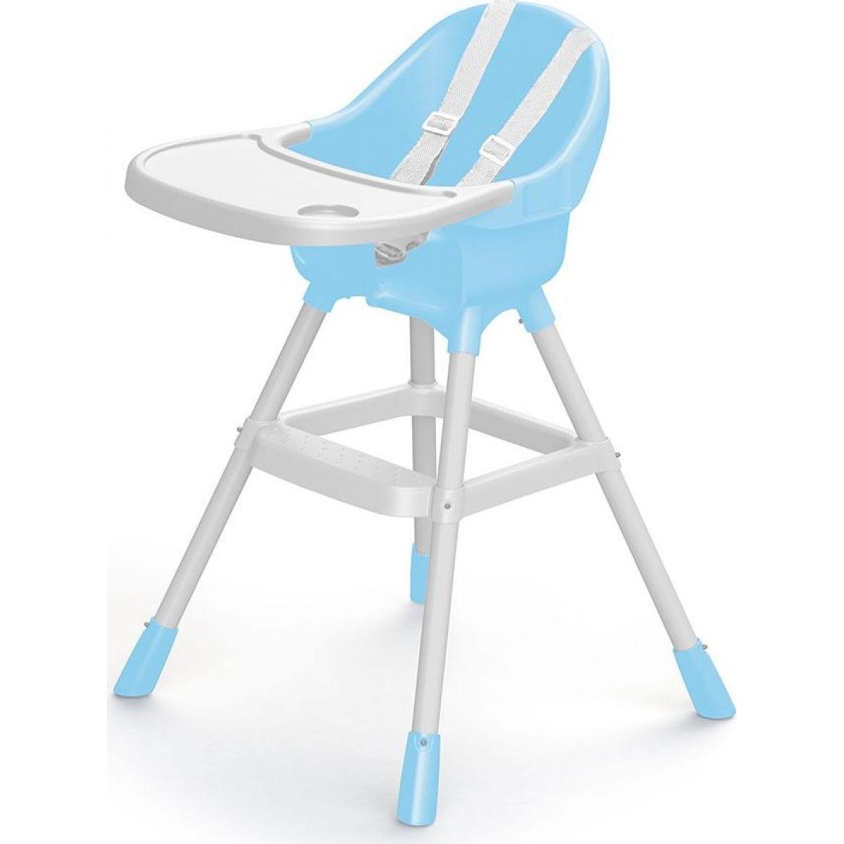Dolu Dětská jídelní židlička modrá