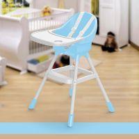 Dolu Dětská jídelní židlička modrá 2