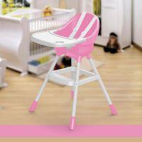 Dolu Dětská jídelní židlička růžová 2