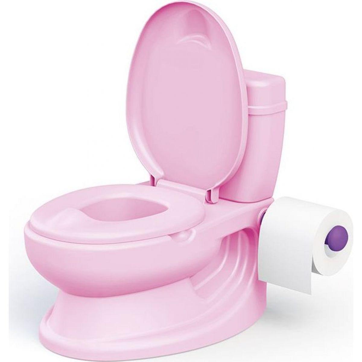 Dolu Dětská toaleta růžová