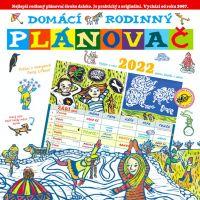 Domácí rodinný plánovač 2022