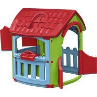 Marian Plast Domeček s dílnou - Červená střecha