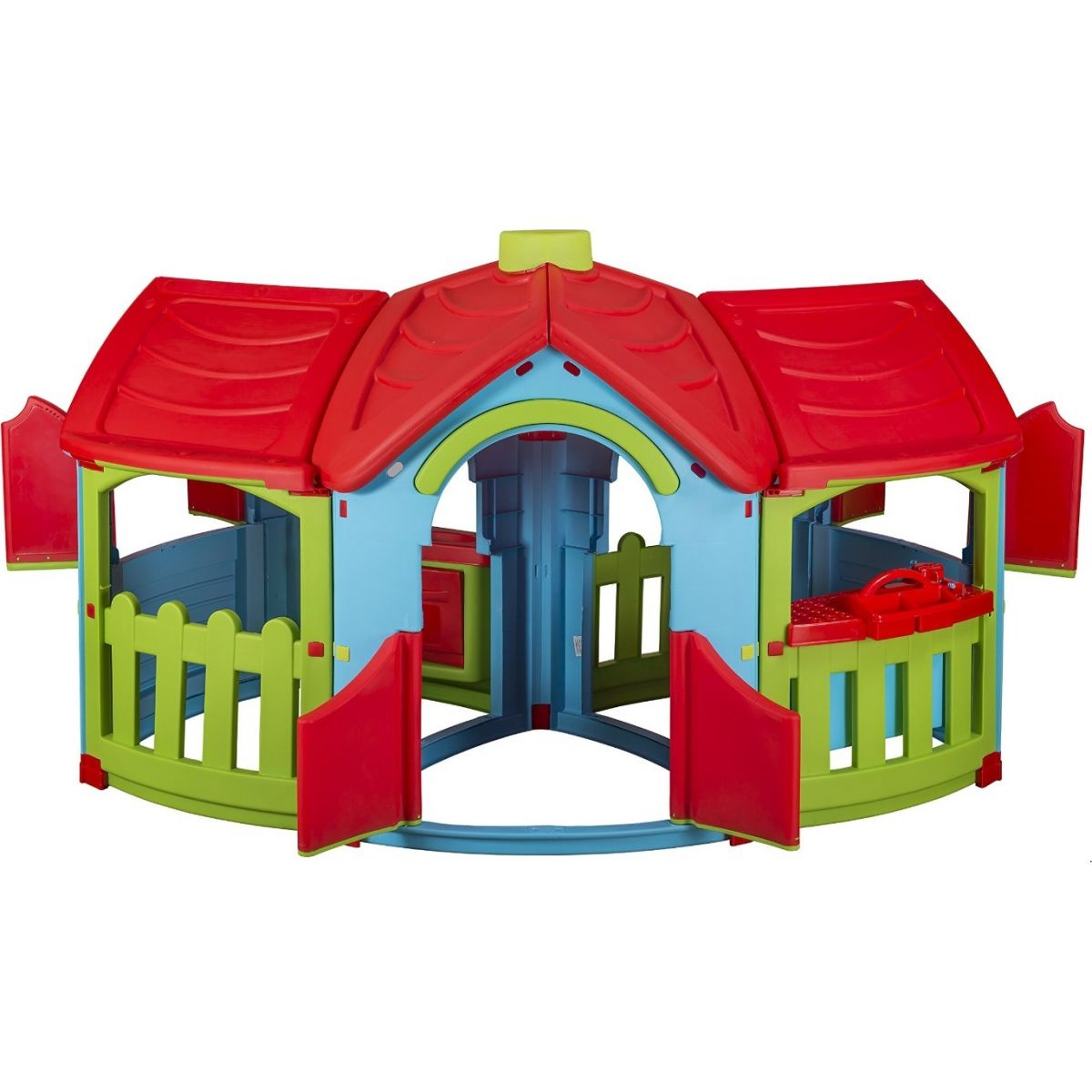 Marian Plast Dětský zahradní domeček Grand Villa - Červená střecha