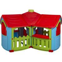 Marian Plast Dětský zahradní domeček Grand Villa - Červená střecha 2