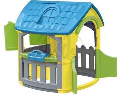 Marian Plast Domeček s dílnou - Modrá střecha