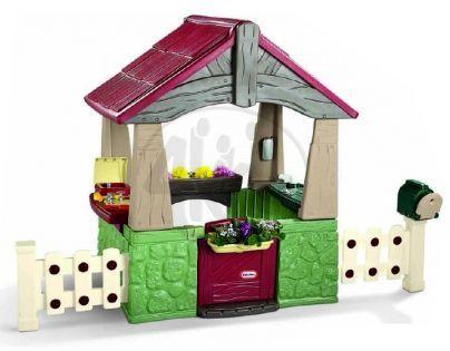 Little Tikes 615894 - Domeček se zahradou