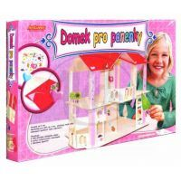 Domek pro panenky skládací