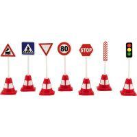 Dopravní značky plast 11,5 cm 2