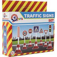 Dopravní značky plast 11,5 cm 3